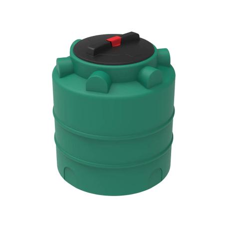 Емкость цилиндрическая для воды и топлива 750л 1000х1000мм H=1170мм